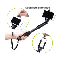 Extendable Selfie Stick Monopod With Bluetooth Remote Shutter For Ios/Android - $15.88