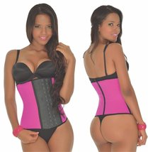 Ann Michell Waist Trainer - Pink 3 Hook, Small 34 - $49.48