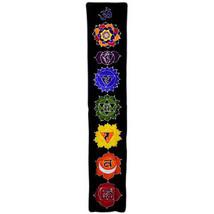 STUNNING PAGAN/SPIRITUAL MIDNIGHT BATIK Drop Banner/wall hanging.183x35cm - $45.58