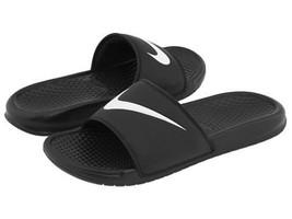 Nike Slide Sandal for Men Black and White Sizes 7 to 15 - $35.83 CAD