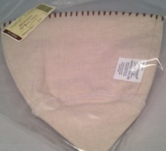 "Longaberger Heartwood 10"" Bowl Basket Liner - Flax Fabric - $11.76"