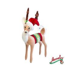 """8"""" Snowflake Reindeer by Annalee"""