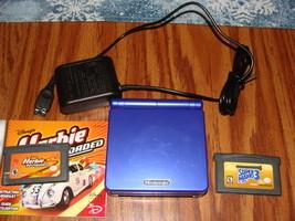 Nintendo Game Boy Advance SP Launch Edition Cobalt Blue Handheld System - $49.99