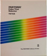 Pantone Color Tint Selector 747XR Volume 2, Binder w/Coated & Uncoated S... - $31.49