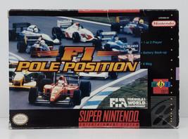F1 Pole Position Super Nintendo SNES Box Only Original 1993 Box - $13.49