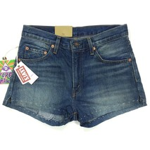 Levi's Vintage Clothing LVC 1967 505 Selvedge Denim Shorts Size 27 Waist Women - $69.99