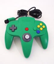 Official Nintendo 64 GREEN CONTROLLER N64 - $19.99