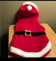 Pet Santa Christmas Costume Size Medium - $16.00