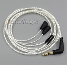 Lightweight Silver OCC Cable For Sennheiser IE8 IE80 IE8i IE80i Earphone - $19.99