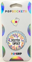 PopSockets Phone & Tablet Grip Positive Energy PopGrip With Swappable Top NEW