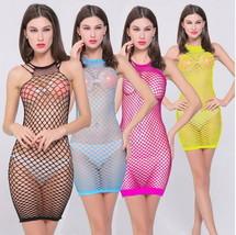 Sexy Women  Lingerie Siamese Fishnet Dress Hot Appeal Costume Sleepwear ... - $14.85
