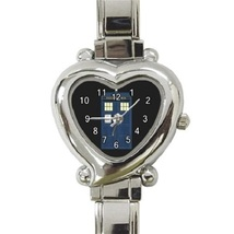 Ladies Heart Italian Charm Bracelet Watch Doctor Who Tardis Gift Model 39082141 - $11.99