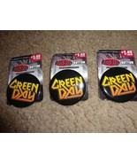 """GREEN DAY METAL LOGO 1.75"""" BUTTON / PIN SET OF 3 - $2.92"""