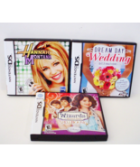 Hannah Montana, Dream Day Wedding and Wizards of Waverly Place Nintendo ... - $12.99