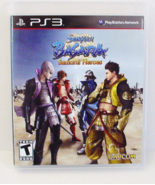Sengoku Basara Samurai Heroes Sony Playstation 3 PS3 - $9.99