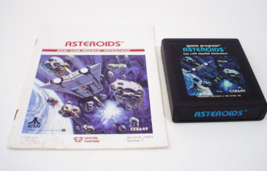Asteroids Atari 2600 1981 with Instructions Manual - $5.99