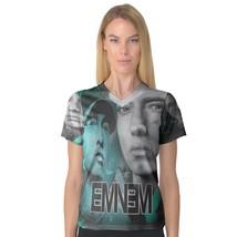 EMINEM Tee Women's V-Neck Fullprint - $19.99 - $25.99