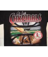 Vintage MLB St. Louis Cardinals Baseball Lee Sport Fan Apparel T Shirt S... - $25.24