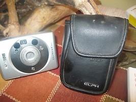CANNON ELPHA  LT 260 26-52mm Camera  Zoom Lens Original Case, # 4308206 - $17.80