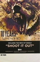 TEN YEARS FEEDING THE WOLVES POSTER (02)   - $8.59