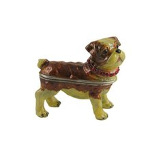 Pug Trinket Box Bejeweled - $19.99