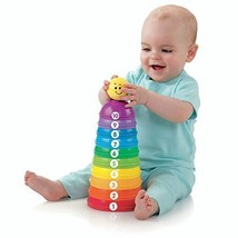 Fisher-Price Brilliant Basics Stack & Roll Cups... - $20.16