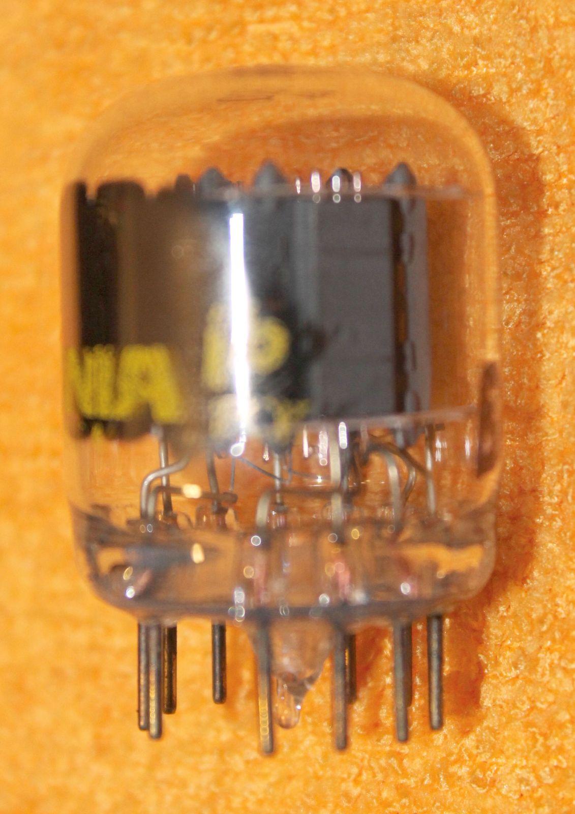 Vintage Radio Vacuum Tube (one): 6BA11 - Tested Good