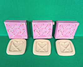 3 Avon Candy Cane Christmas Holiday Guest Travel Mini Soap Lot Vanilla C... - $9.89