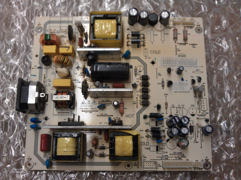 LK-PL390101B Power Supply  Board From Apex LE3943  LCD TV