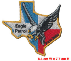 10 PC,s Texas Eagle Patrol Embroidered Vintage ... - $15.99