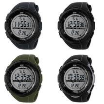 LED Digital Sports Watch Bracelet Rubber  Band Watch For Men HB88 - $10.55