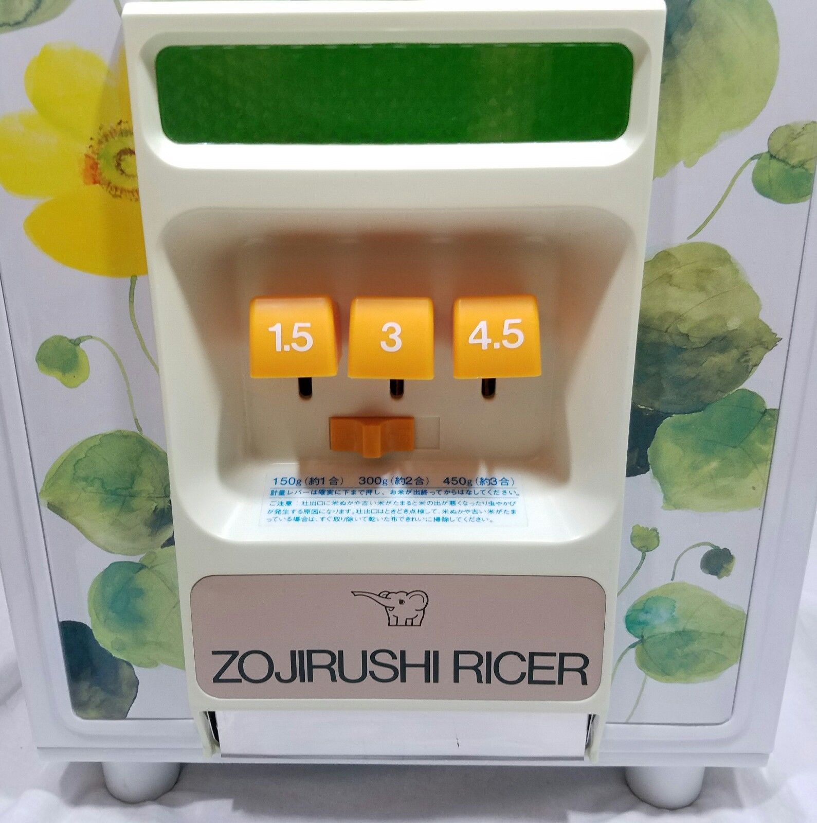 Primary image for Zojirushi Rice Dispenser Holder. Rice Dispenses In Three Measurements 1960s  NOS
