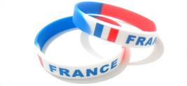 Multicolor Country Flag Unisex Silicone Bracelet Rubber Fashion Wristban... - $3.99