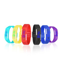 2016 Fashion Sport LED Women Watches Candy Color Silicone Rubber Touch S... - $3.50+
