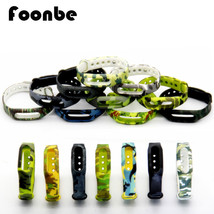 Camouflage Silicone Strap Belt For Miband for Miband 1s 1a Smart Wristba... - $3.25+