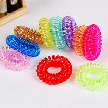 Bluelans 10Pcs Girls Elastic Rubber Hair Ties Band Rope Ponytail Holder ... - $1.99+