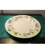 Perennials By Pfaltzgraff Violets and Bees Dinner Plate  - $9.99