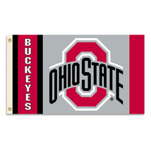 Ohio State - 3' x 5' NCAA Polyester Flag - $27.60