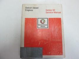 1981 Detroit Diesel Allison Engines Series 92 Service Repair Shop Manual... - $197.95