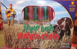 Keystone-Products Jingle Bells Shotgun Shells Christmas Lights Cabin No... - $27.00