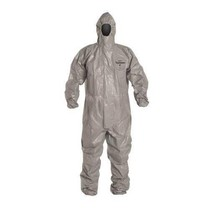 Case of 6 C2 127 TGY 000600 Dupont Tychem CPF 2 Coverall Gray size XL - $196.02