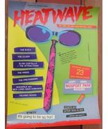 Heatwave Festival 1980 Poster Talking Heads B-52's Pretenders Costello 2... - $900.00