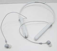 Sony WI-C400 Neckband Wireless Headphones W/Mic & Call Button-White-Parts/Repair - $8.54