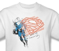 Superman Shield T-shirt American Way DC comics 100% cotton graphic tee DC SM1339 image 1
