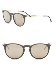421ee3028d7e Versace Men  39 s Pop Chic 52mm Sunglasses Brown Mirror Lens Green Frm Made