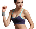 Sexy Bra Push Up Women Sport Yoga Fitness Sport Top Wireless Padded Seamless Top