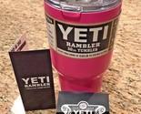 Yeti 30 oz Rambler Pink Coffee Mug Cup Insulated Tumbler New