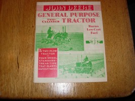 John Deere General Purpose Tractor Two Cylinder Brochure - $14.80