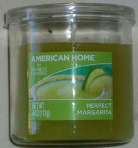 YANKEE CANDLE AMERICAN HOME PERFECT MARGARITA 4oz SMALL JAR CANDLE NEW - $3.69
