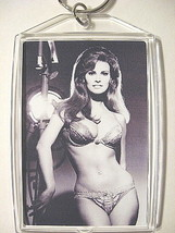 RAQUEL WELCH KEY CHAIN KEYCHAIN RING LUST NUDE BRA PANTIES BIKINI SEXY B... - $6.99